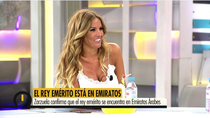 Marta López, en 'Ya es mediodía' el lunes 17 de agosto.