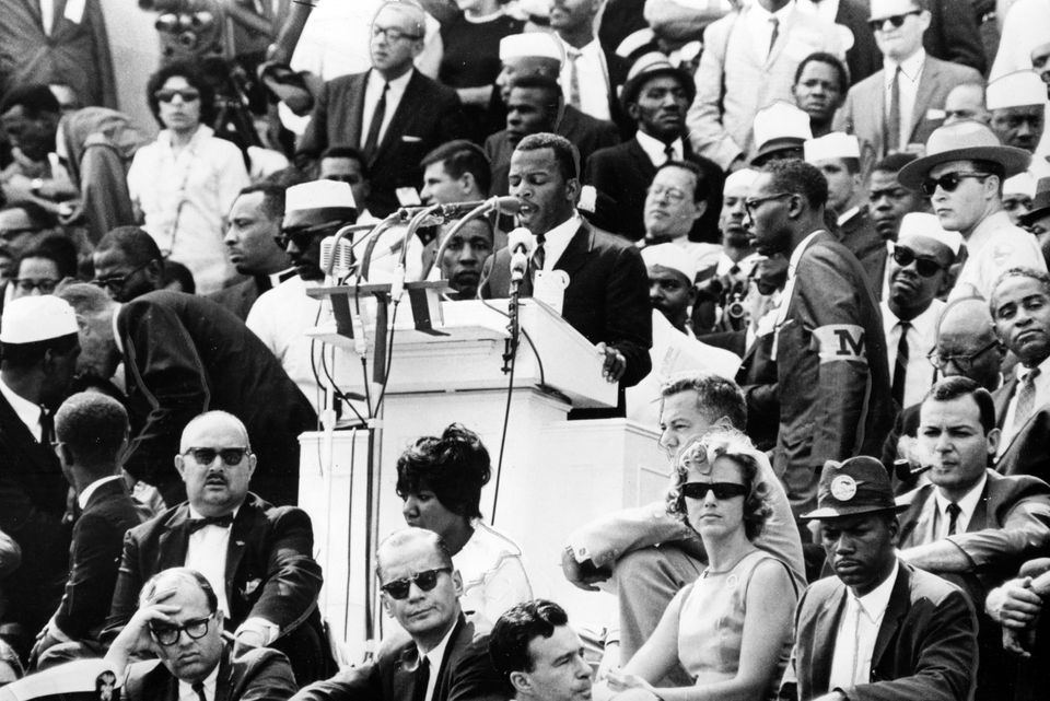 The late Rep. John Lewis (D-Ga.), who passed away on July 17, 2020, was the last living speaker at the...