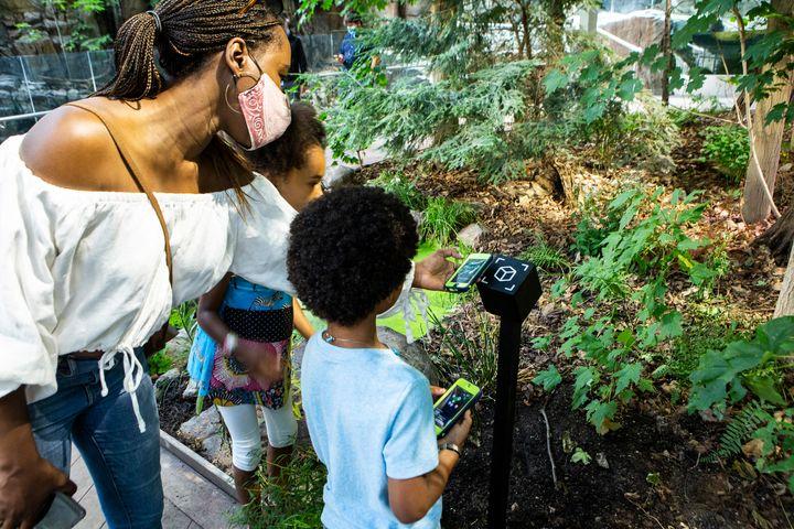 Le Biodôme de Montréal assure que sa nouvelle application mobile «permettra au visiteur de se balader comme en nature».