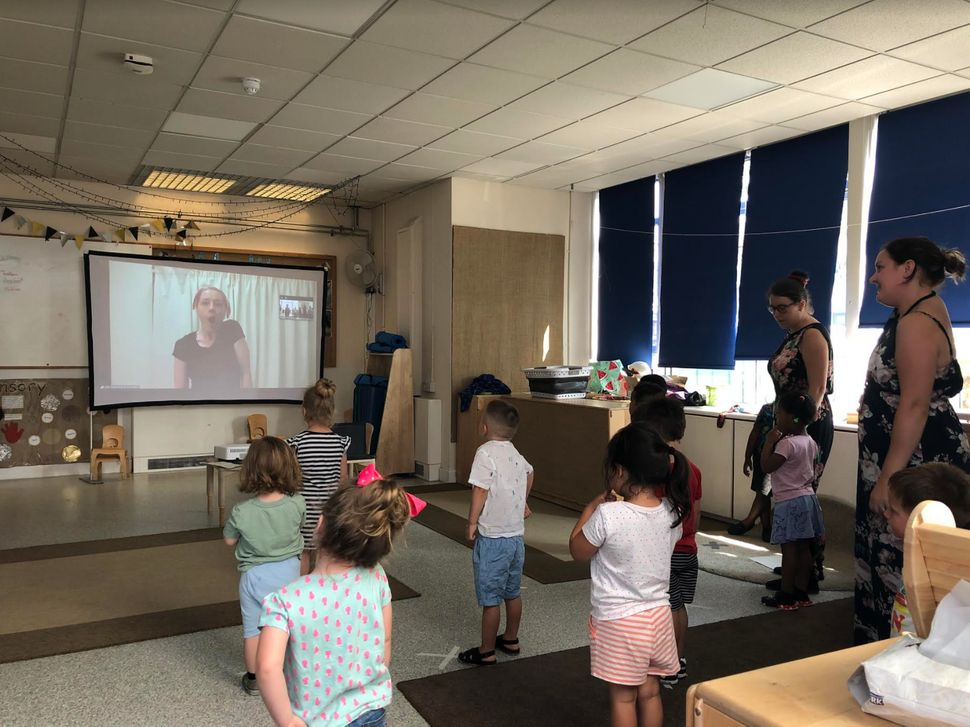 A virtual workshop at Eastbury Nursery.