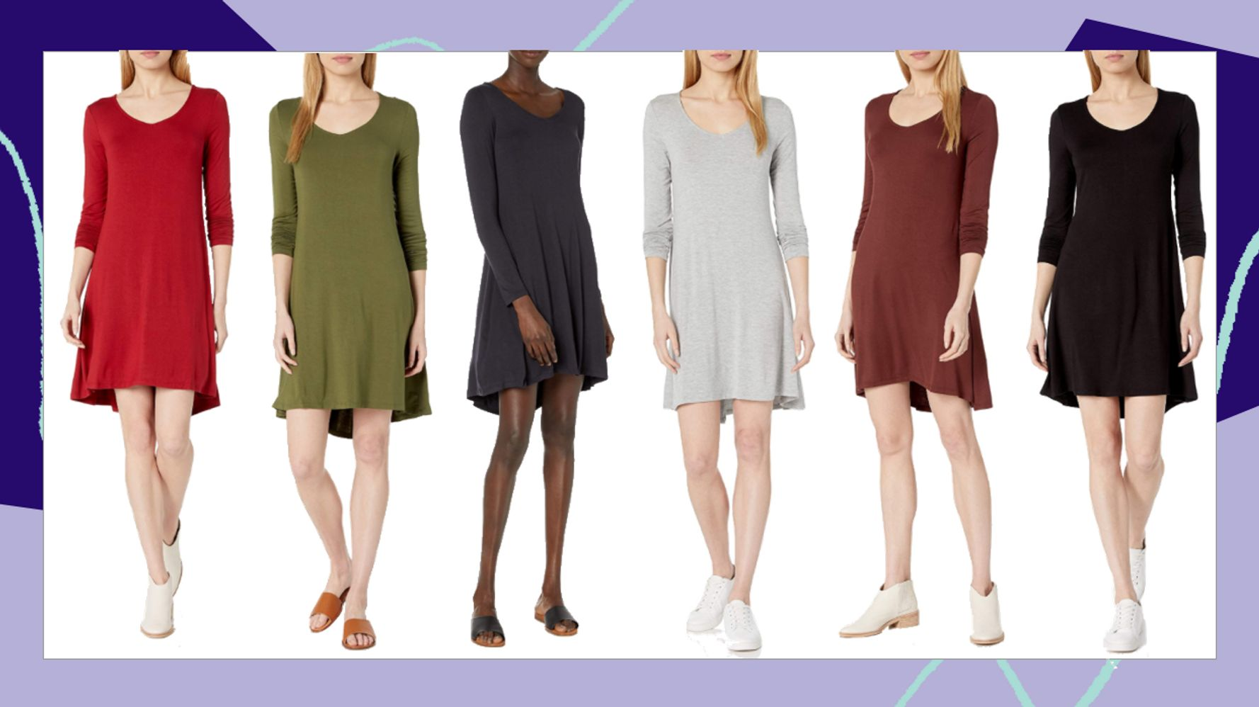 The Perfect Fall Dress Exists. And It's On Sale For $19 On Amazon. 1