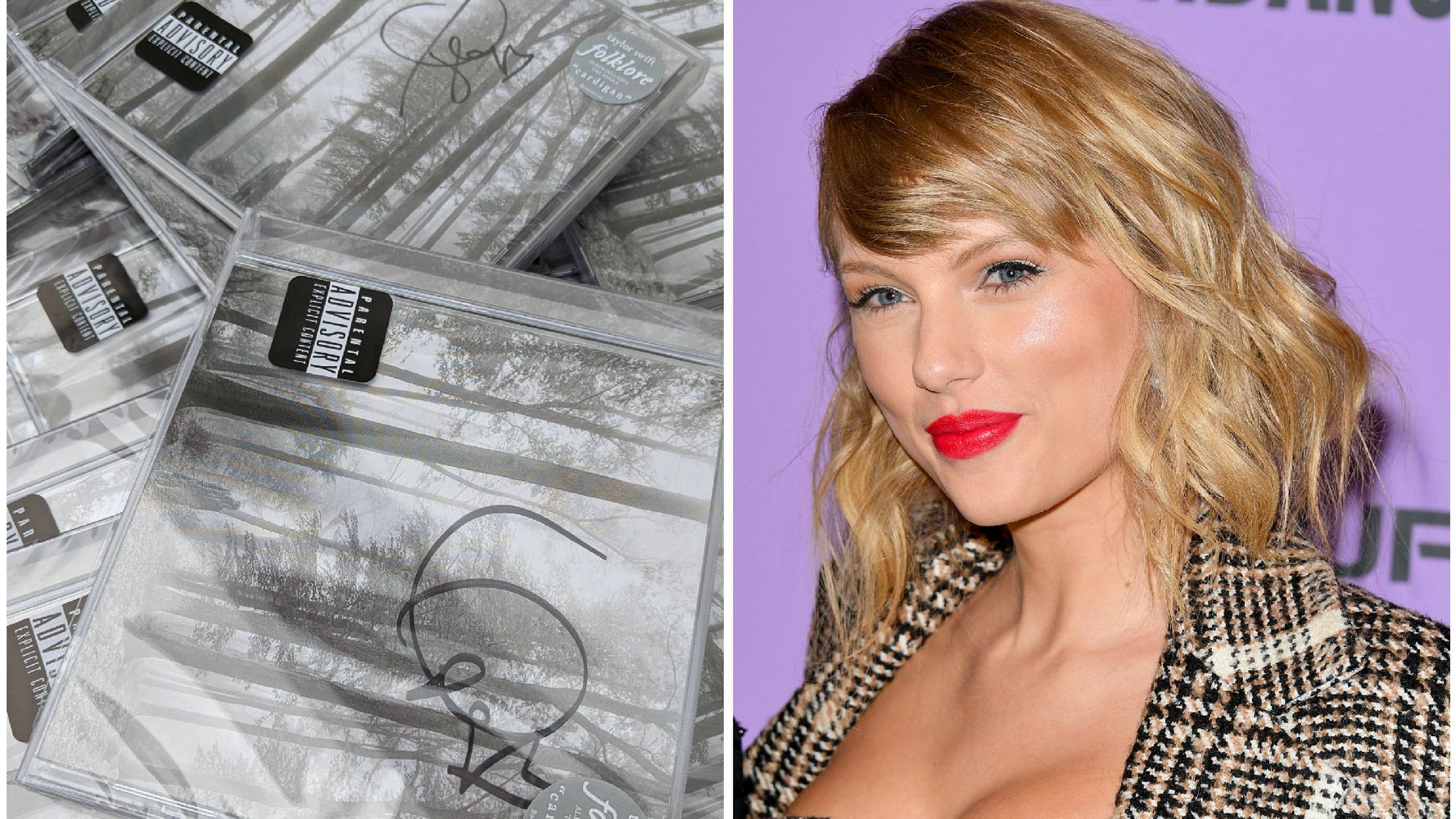 Taylor Swift Donates Signed Folklore Cds To Help Indie Record Stores Across The U S Huffpost