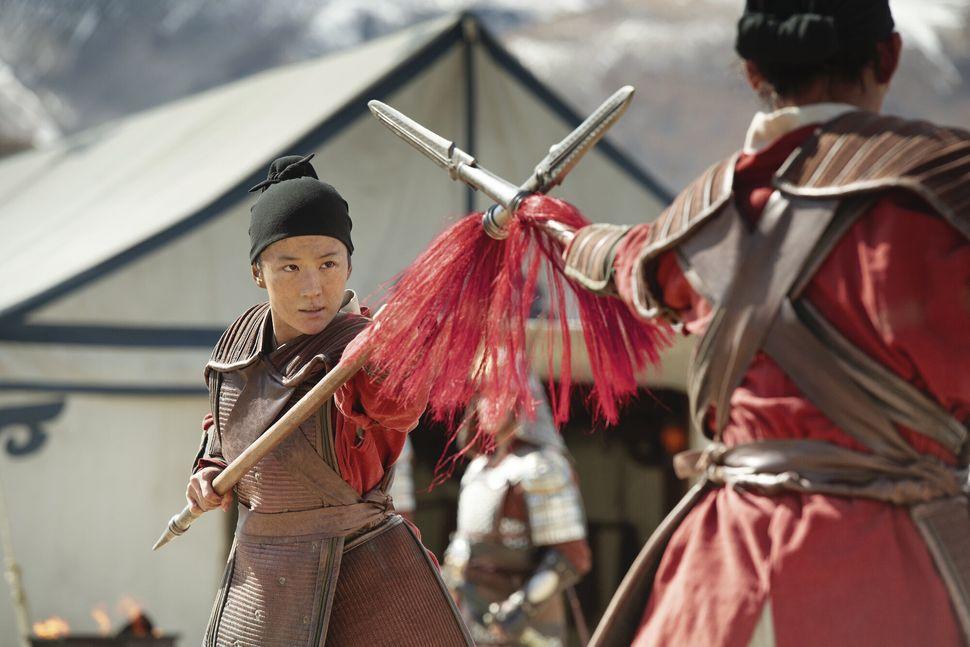 "Liu Yifei in ""Mulan."""