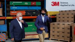 Trudeau, Ford Announce Deal With 3M To Make N95 Masks In