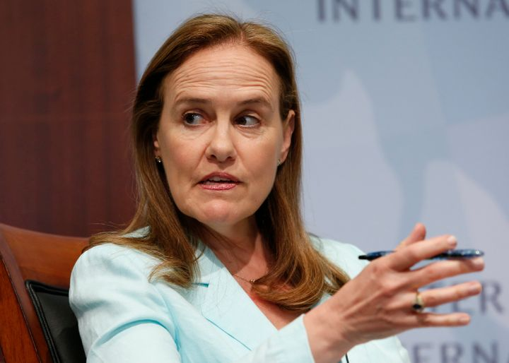 Michèle Flournoy, an undersecretary for defense in former President Barack Obama's administration, is seen as a frontr