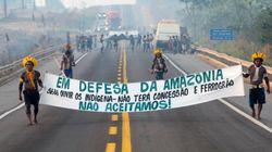 Au Brésil, ces Indigènes bloquent une route contre la déforestation et la