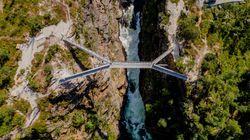Αδρεναλίνη: Η νέα γέφυρα που αιωρείται πάνω από καταρράκτη της Νορβηγίας είναι μόνο για