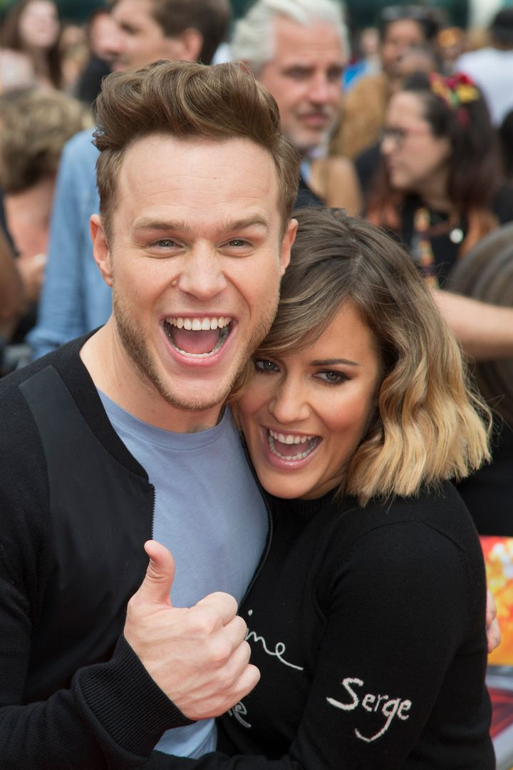 The pair hosted The Xtra Factor together before being promoted to the main show