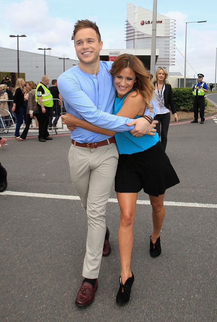 Olly and Caroline were first paired together in 2011