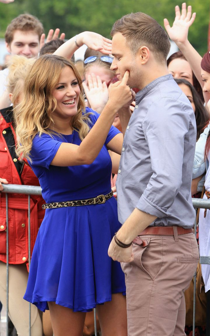 Caroline and Olly had a special chemistry that extended beyond TV screens