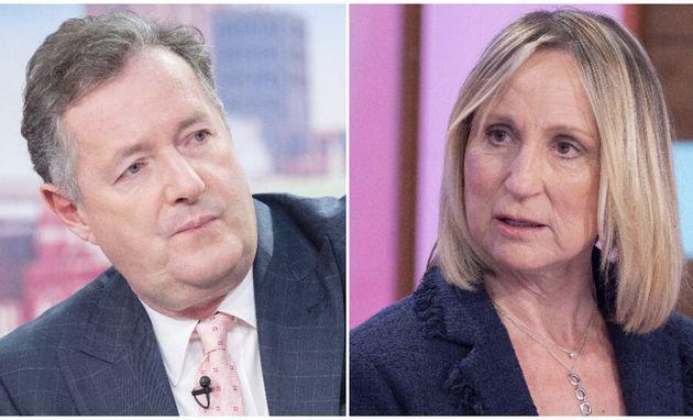 Piers Morgan and Carol