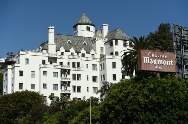 The Chateau Marmont Hotel is pictured, Wednesday, July 29, 2020, in Los Angeles. (AP Photo/Chris