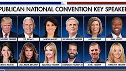 Convention républicaine: la moitié des orateurs principaux seront des
