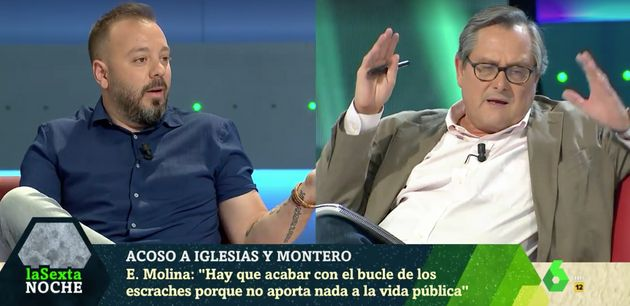 Antonio Maestre y Francisco Marhuenda, en 'LaSexta