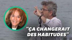 Jean-Luc Mélenchon propose à Emmanuel Macron de faire entrer Gisèle Halimi au