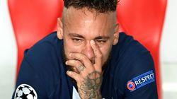 Les larmes de Neymar disent toute la douleur des Parisiens après
