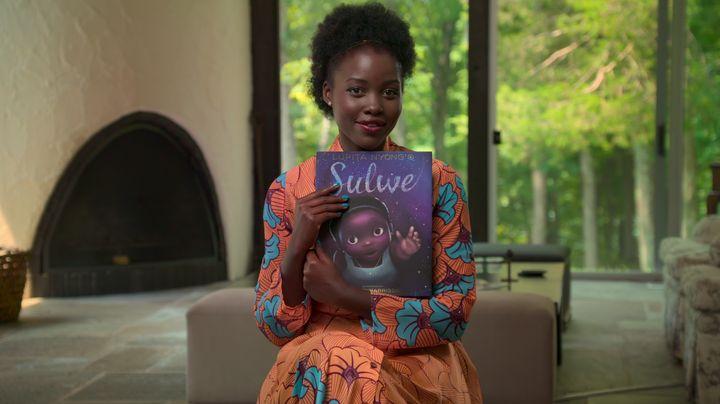 "Lupita Nyong'o in ""Bookmarks: Celebrating Black Voices."""