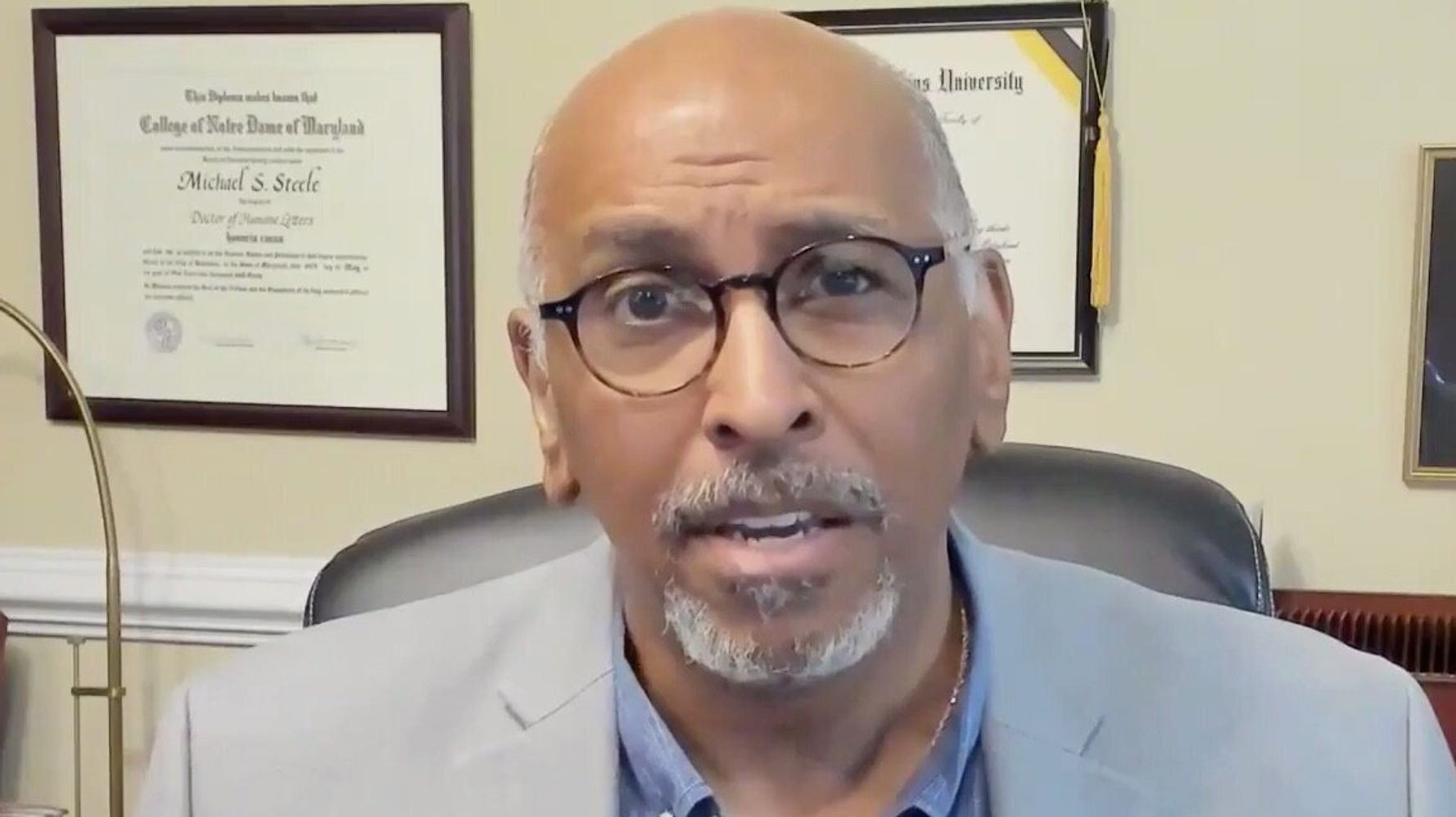 Ex-RNC Chair Uses MLK Quote To Reveal Why He's Voting For Joe Biden