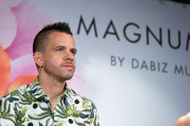Dabiz Muñoz durante una presentación en junio de