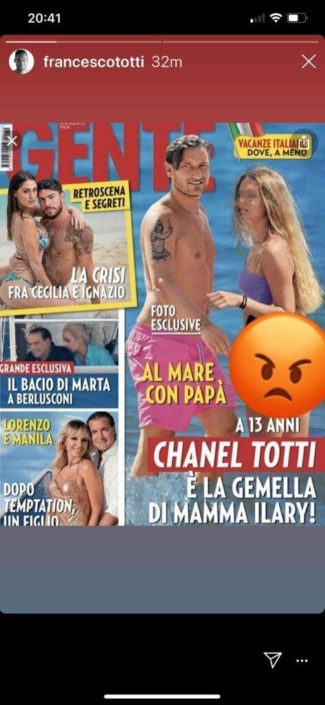 Instagram/Totti