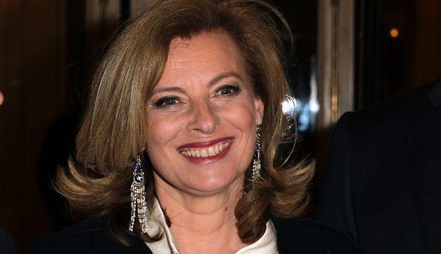 Valérie Trierweiler, ici en mars 2019 à Paris, tiendra une chronique sur RTL après...