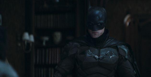 Robert Pattinson in the new The Batman