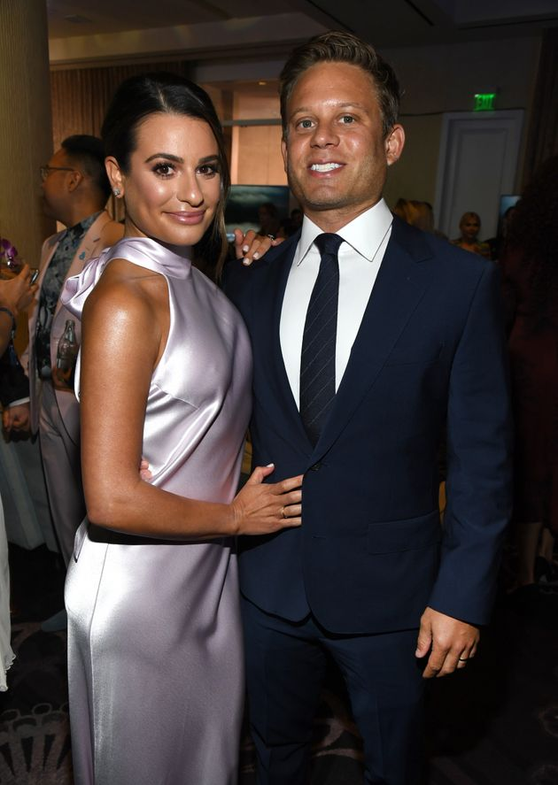 Lea and Zandy pictured at an event last year