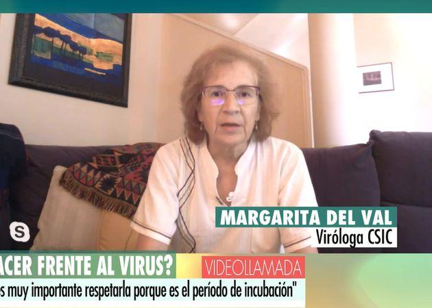 Margarita del Val en 'El programa de Ana