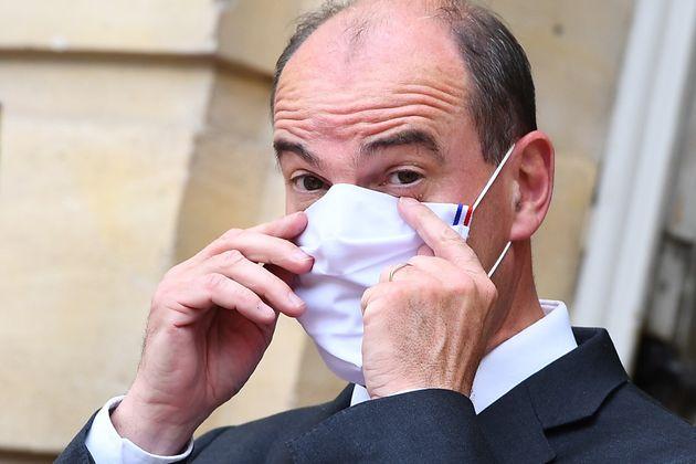 Le premier ministre Jean Castex photographié à Matignon lundi 24