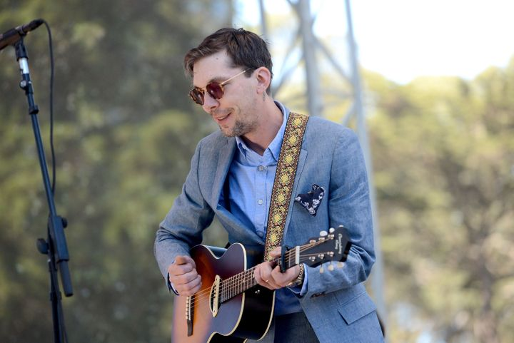 Justin Townes Earle performs onstage during the Hardly Strictly Bluegrass music festival at Golden Gate Park on Oct. 7, 2017