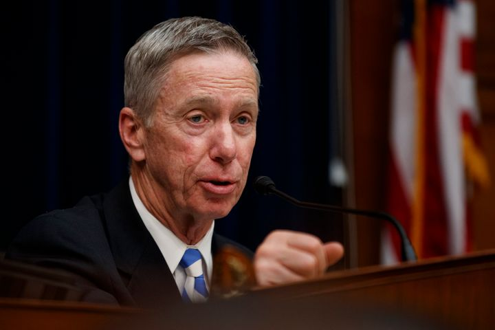 Rep. Stephen Lynch, (D-Mass.), seen here speaking during a hearing on election security, is facing a primary challenge from progressive doctor Robbie Goldstein.