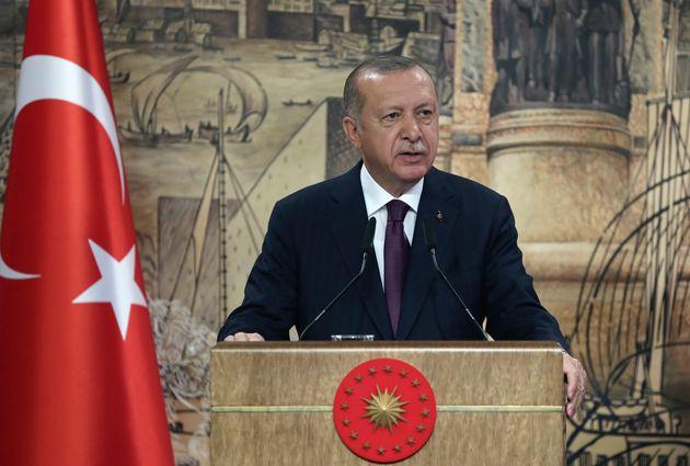 Ερντογάν: H Eλλάδα από σήμερα θα είναι υπεύθυνη για όλες τις
