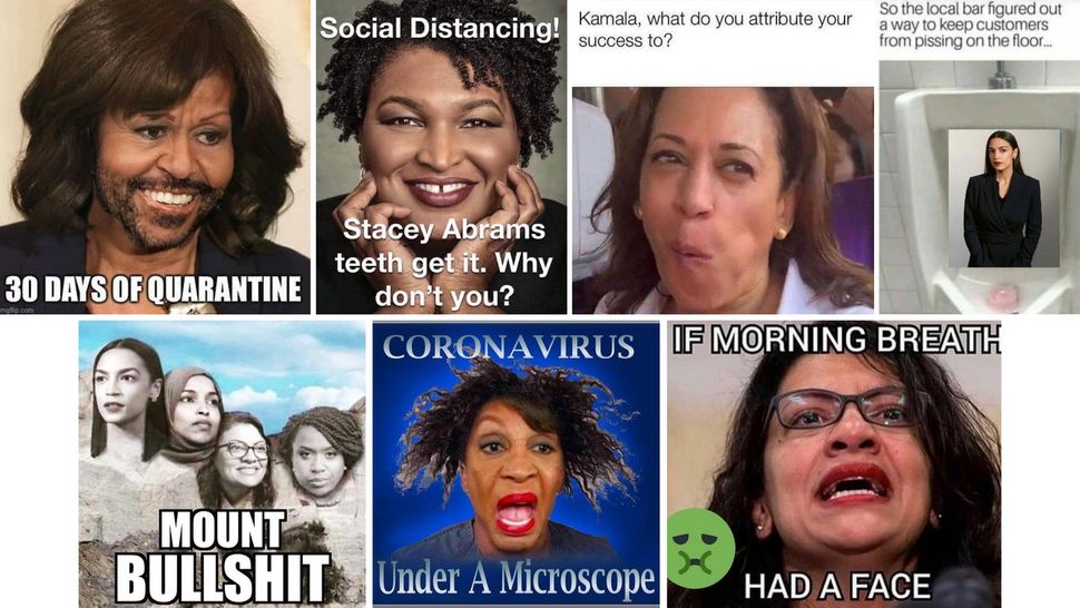 Many accountspander to their base by demeaning prominent female Democrats — especially those of color — in