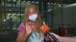 Belén Esteban estalla por lo que ha visto al llegar al aeropuerto: