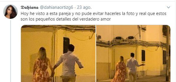 Una tuitera triunfa al compartir el gesto de un novio con su