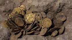 Trovate in Israele 425 monete d'oro puro, un tesoro