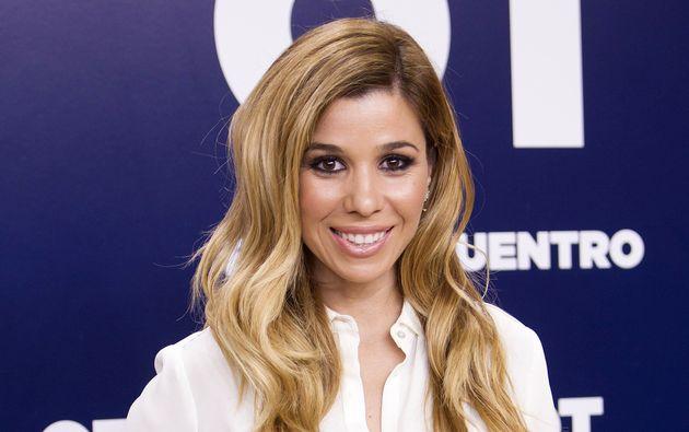 Natalia durante la presentación de 'OT El reencuentro' en