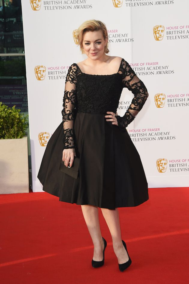 Sheridan Smith on the night of the TV Baftas in