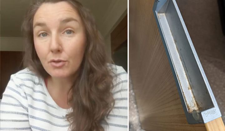 """Expat Lauren Farmer launched a campaign to have the Travelodge removed from Sydney's coronavirus quarantine program after arriving in her room on Friday where she became """"distraught"""" by the state of the accommodation."""