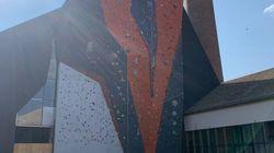 A Mulhouse, le plus haut mur d'escalade de France ouvre dans une ancienne