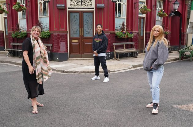 The EastEnders cast returned to filming in