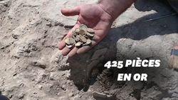 Un trésor datant de plus de 1000 ans découvert par des
