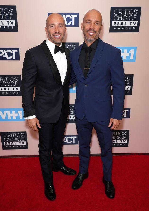 Jason (left) and Brett