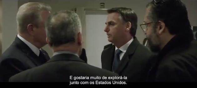 'Gostaria de explorar Amazônia com os EUA', diz Bolsonaro a Al Gore em trecho de