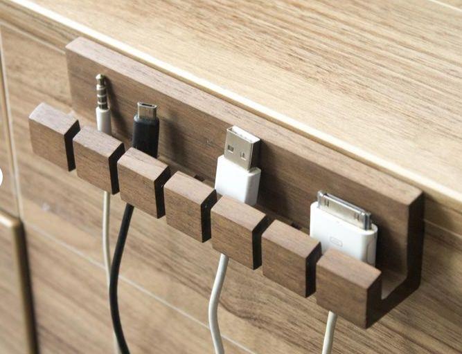 Organize Cords Ideas