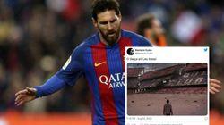 Messi se va del Barça y... Twitter hace