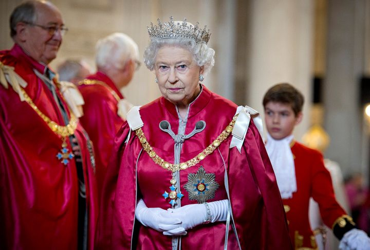 Queen Elizabeth is currently staying at her Balmoral estate in Scotland.