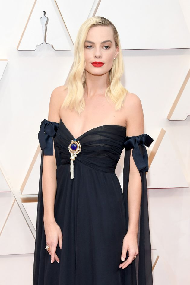 Margot Robbie attends the 92nd Annual Academy Awards at Hollywood and Highland on February 09, 2020 in...