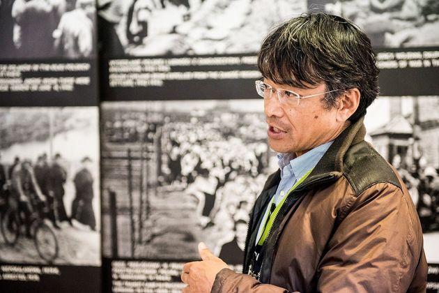 20年以上に渡りアウシュビッツの歴史を伝えてきた中谷剛さん。