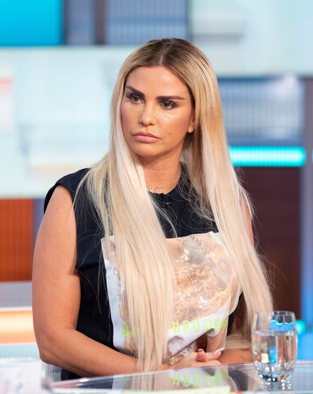 Katie Price pictured in